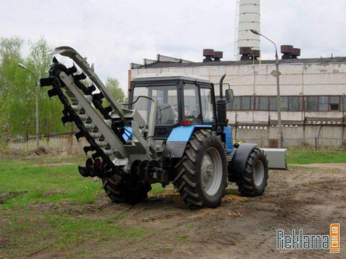 Баровая машина грунторезная на базе ТМ-10.00Е